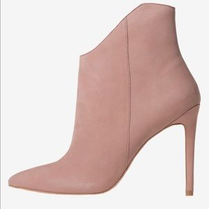 ALDO Myrona ankle booties in the color blush
